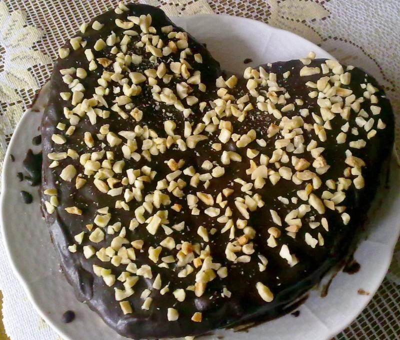 sacher tortička