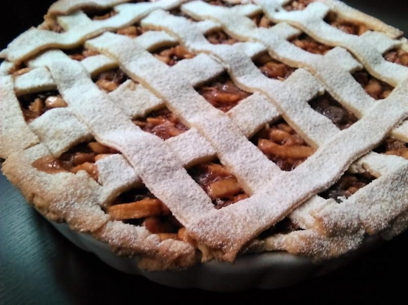 jablkový koláč - apple pie