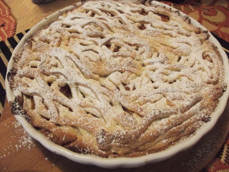 marhulový koláč